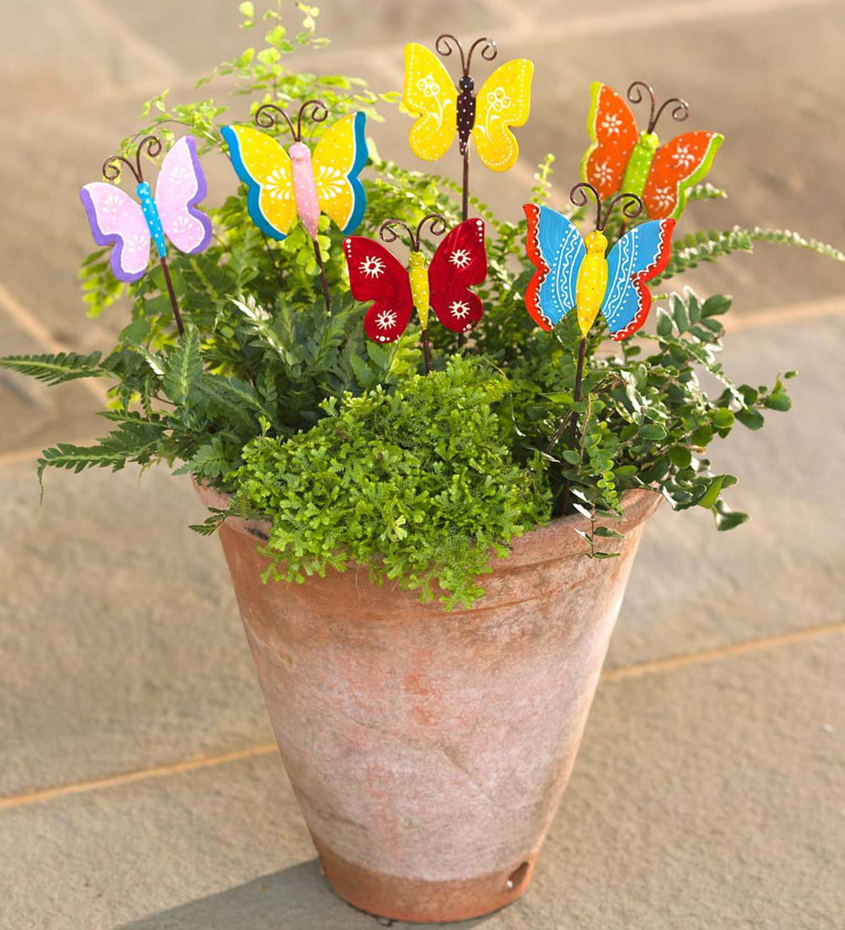 Butterfly Garden Stakes, Set Of 6