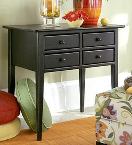 Four-Drawer Table