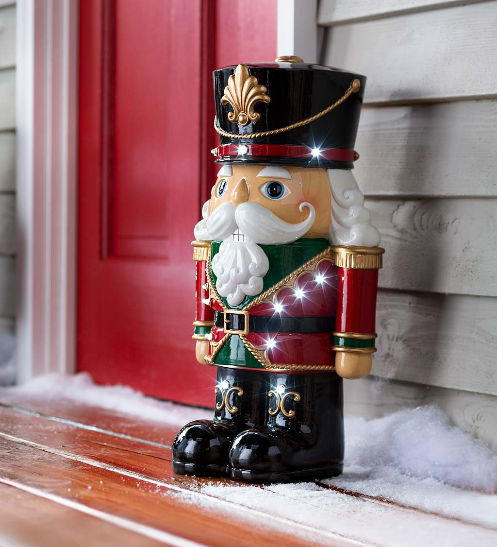 Indoor/Outdoor Lighted Shorty Holiday Statue