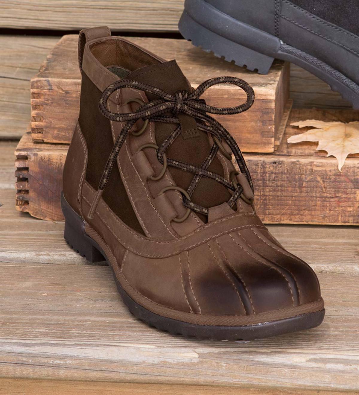 UGG Heather Boots - Black - Size 7