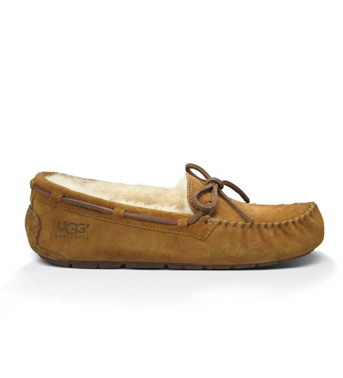 cb4ae2d5ad5 UGG Australia Womens Dakota Moccasin Slippers | PlowHearth