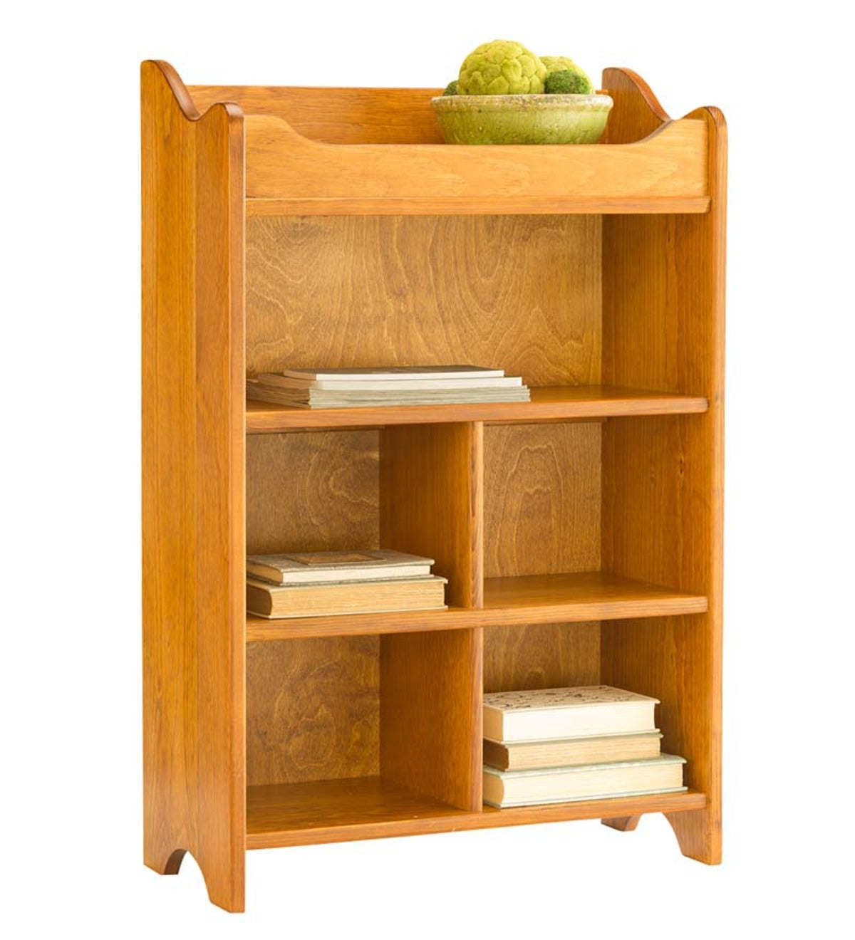 USA-Made Solid Pine Dry Sink Storage Cabinet - Honey Pine