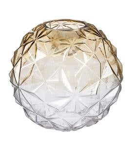 Glowing Glass Globe with Moving Light, Large