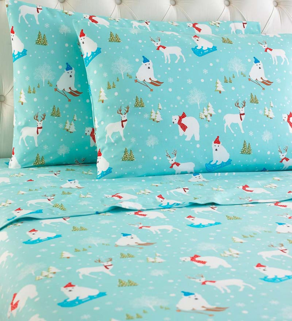 Fun in the Snow Microflannel® Sheet Sets
