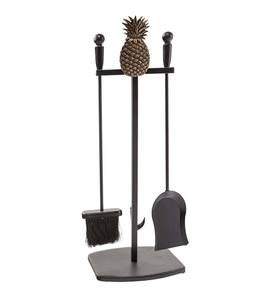 First Colony Pineapple Fireplace Tool Set