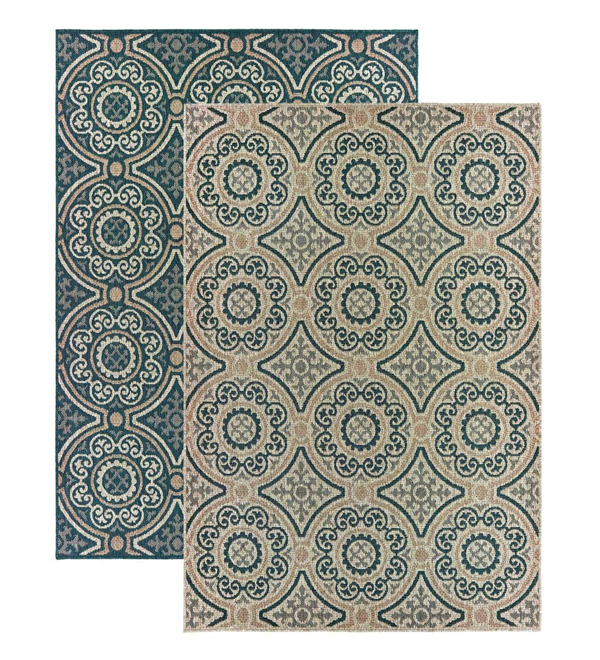 Cambridge Circles Indoor/Outdoor Rug