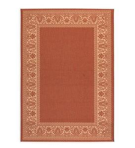 Veranda Border Indoor/Outdoor Rug