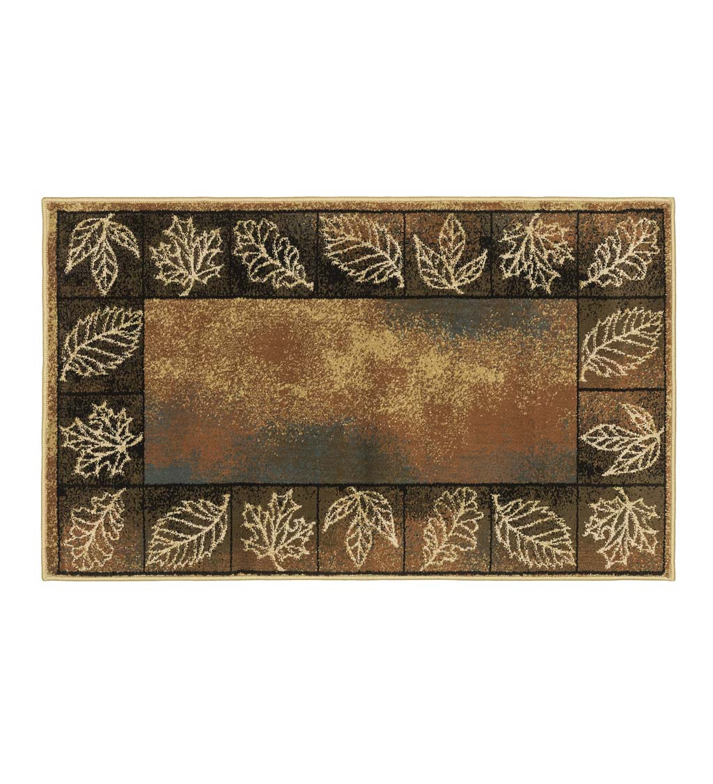 "Vista Autumn Leaves Rug, 30"" x 50"""