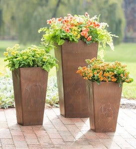 Sussex Frost-Proof Resin Planters In Three Sizes