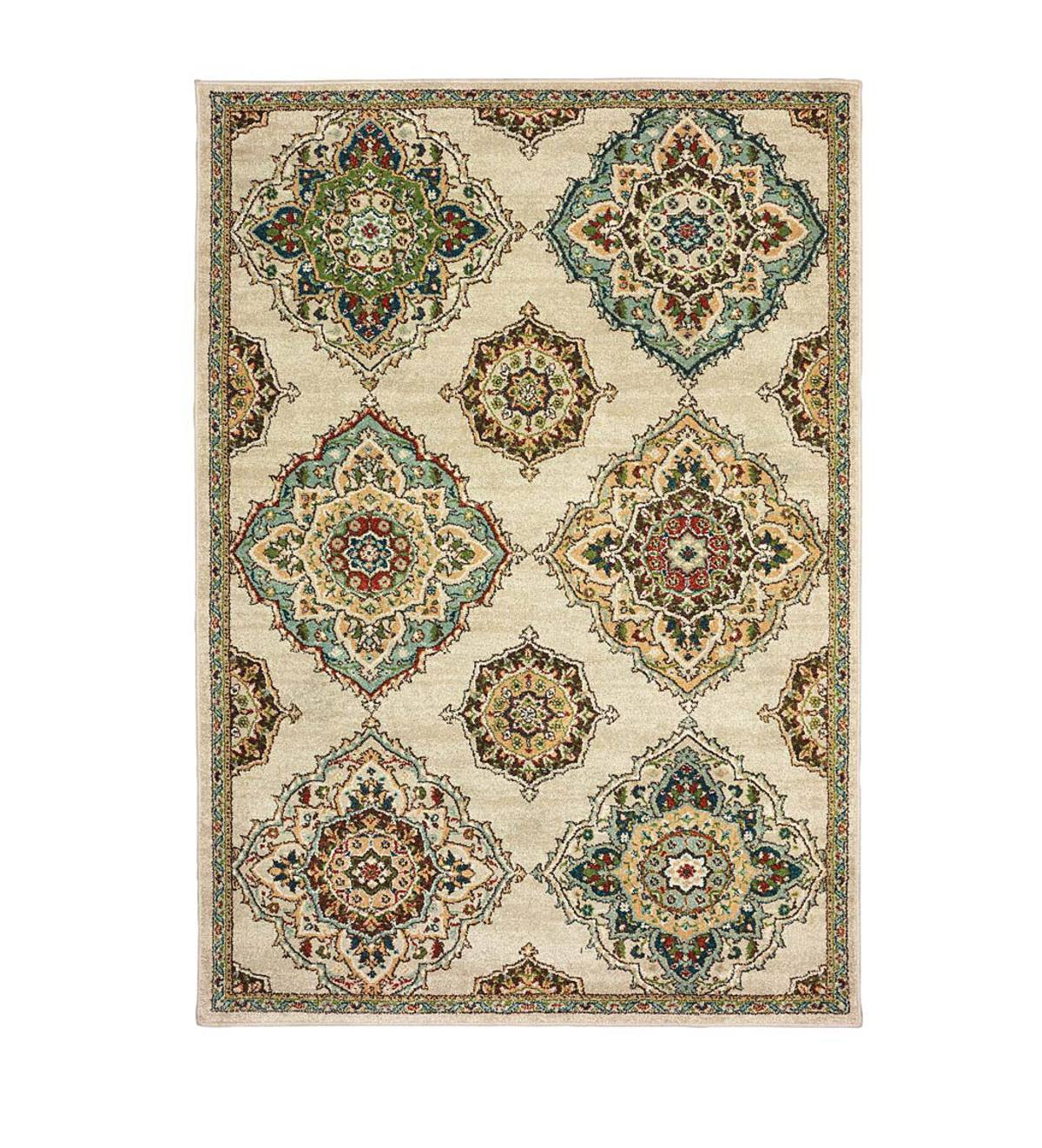 Daughton Medallion Area Rug, 3' x 5'