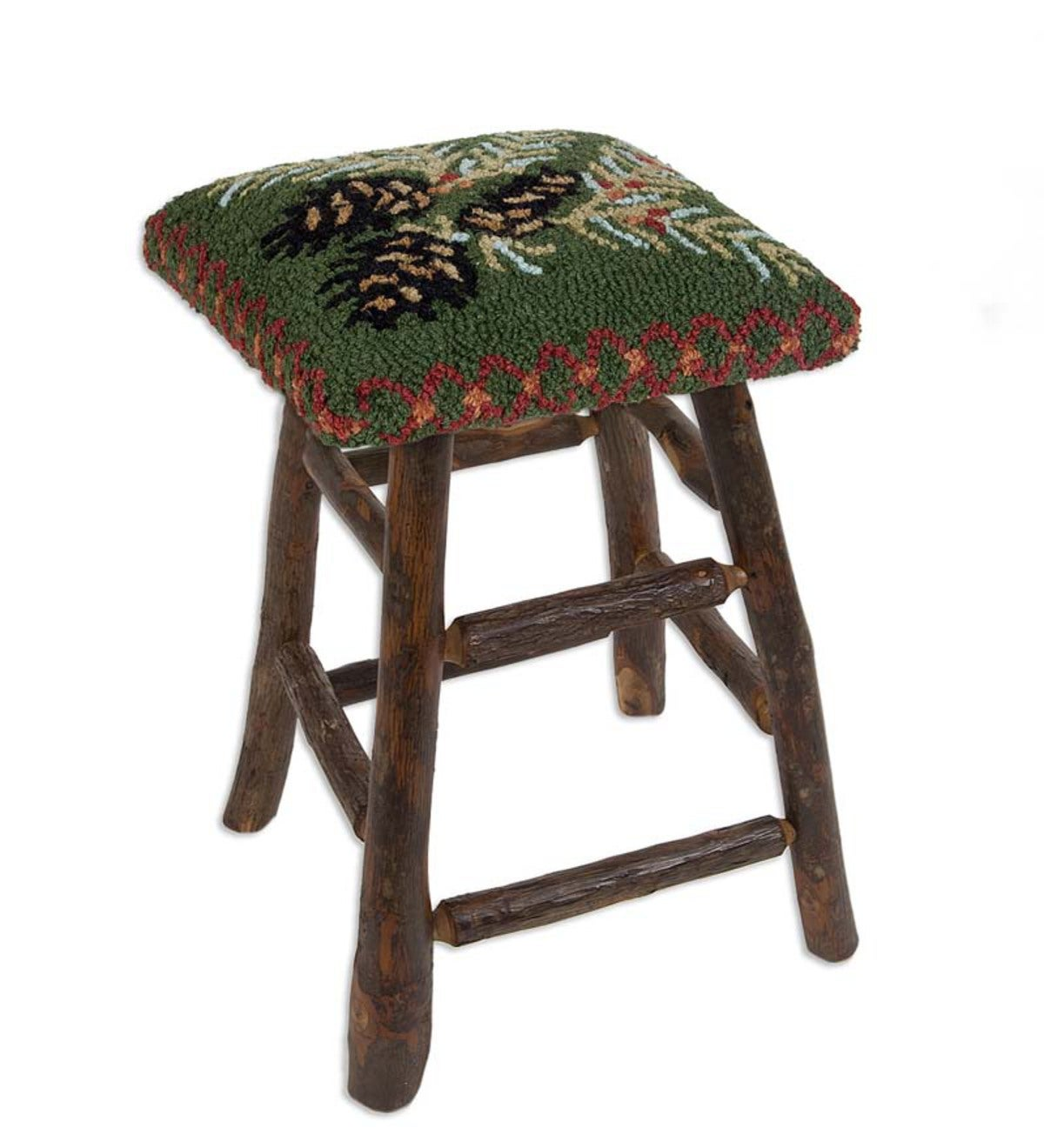Pine Cone Stool 17 H Eligible For Promotions Plowhearth