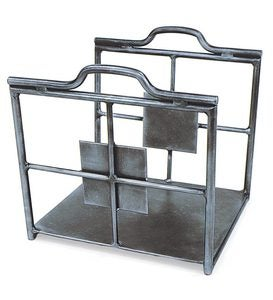 Wrought Iron Wright Firewood Holder