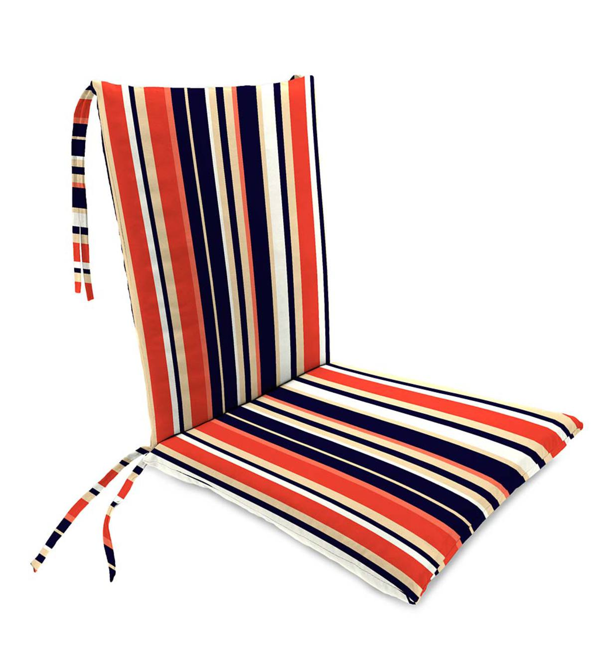 Sale Polyester Classic Rocking Chair Cushions With Ties