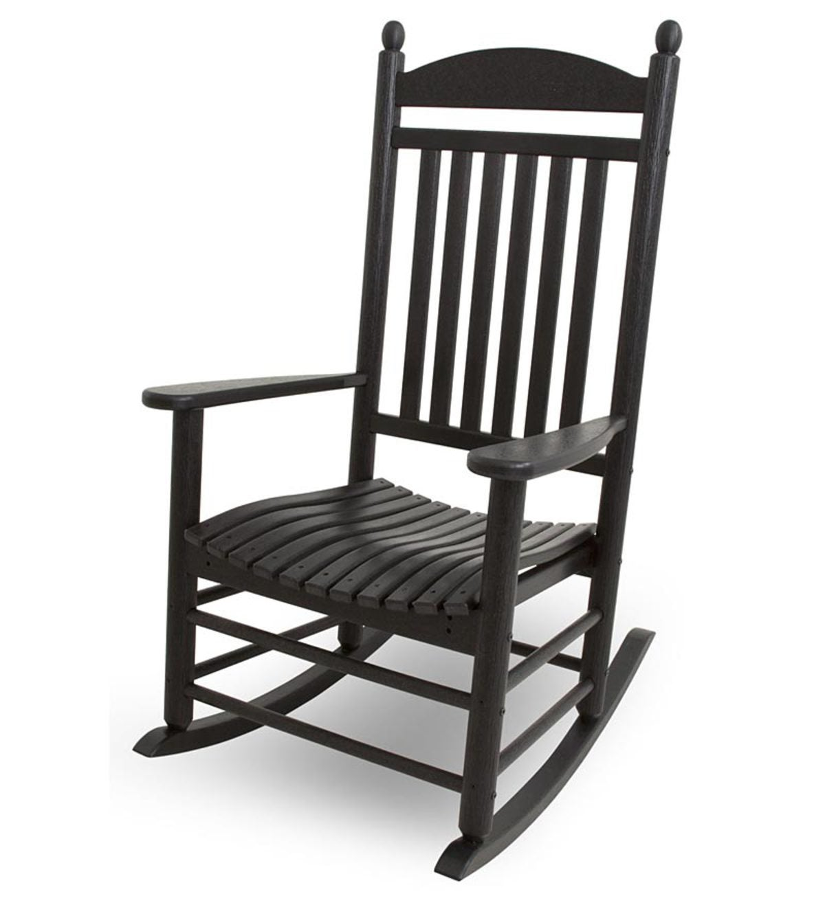 Outdoor POLYWOOD® Jefferson Rocking Chair - Black