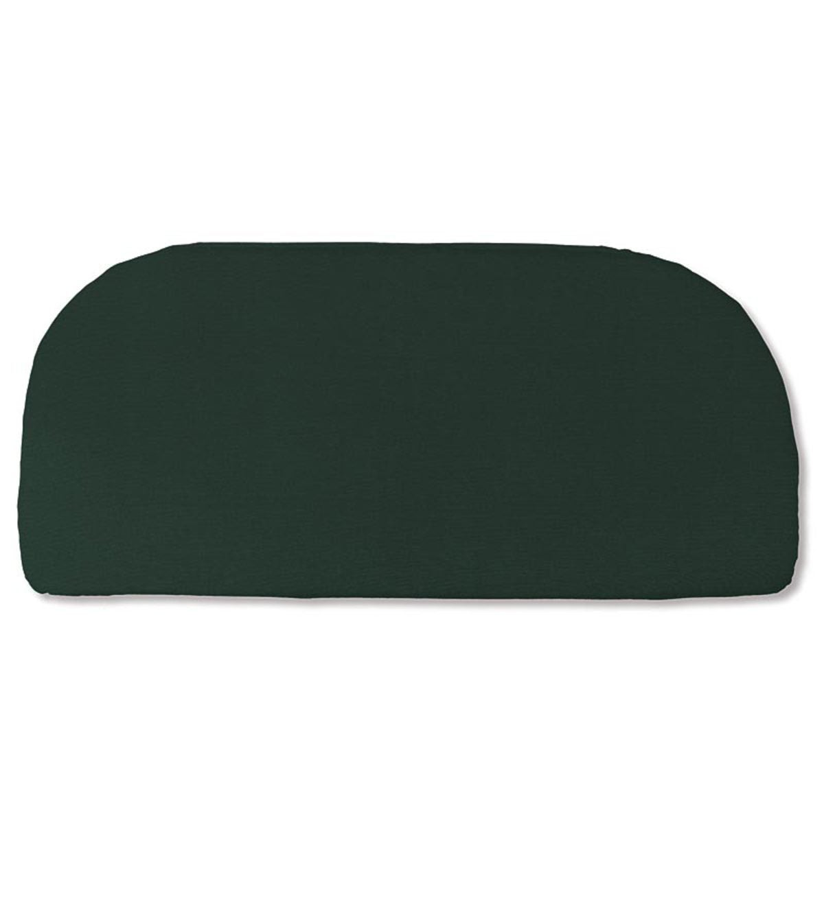"Polyester Classic Swing/Bench Cushion, 41""x 18¾""x 3"" - Forest Green"