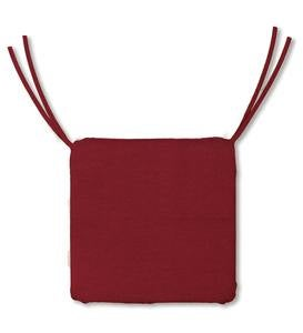 Outdoor Square Classic Chair Cushion With Ties