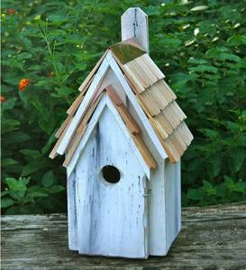 Bluebird Manor Cypress Birdhouse