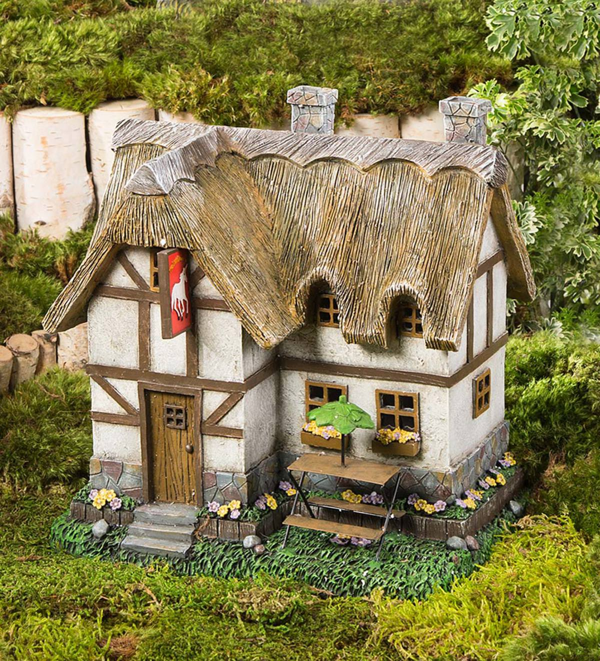 Fairy Garden House Tudor House Fairy Cottage Fairy House Fairy Home