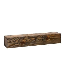 "Rustic Wooden Shelf, 30""L"