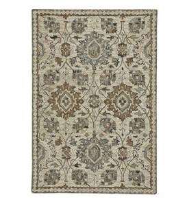 Parkside Wool Medallion Rug, 8' x 10'