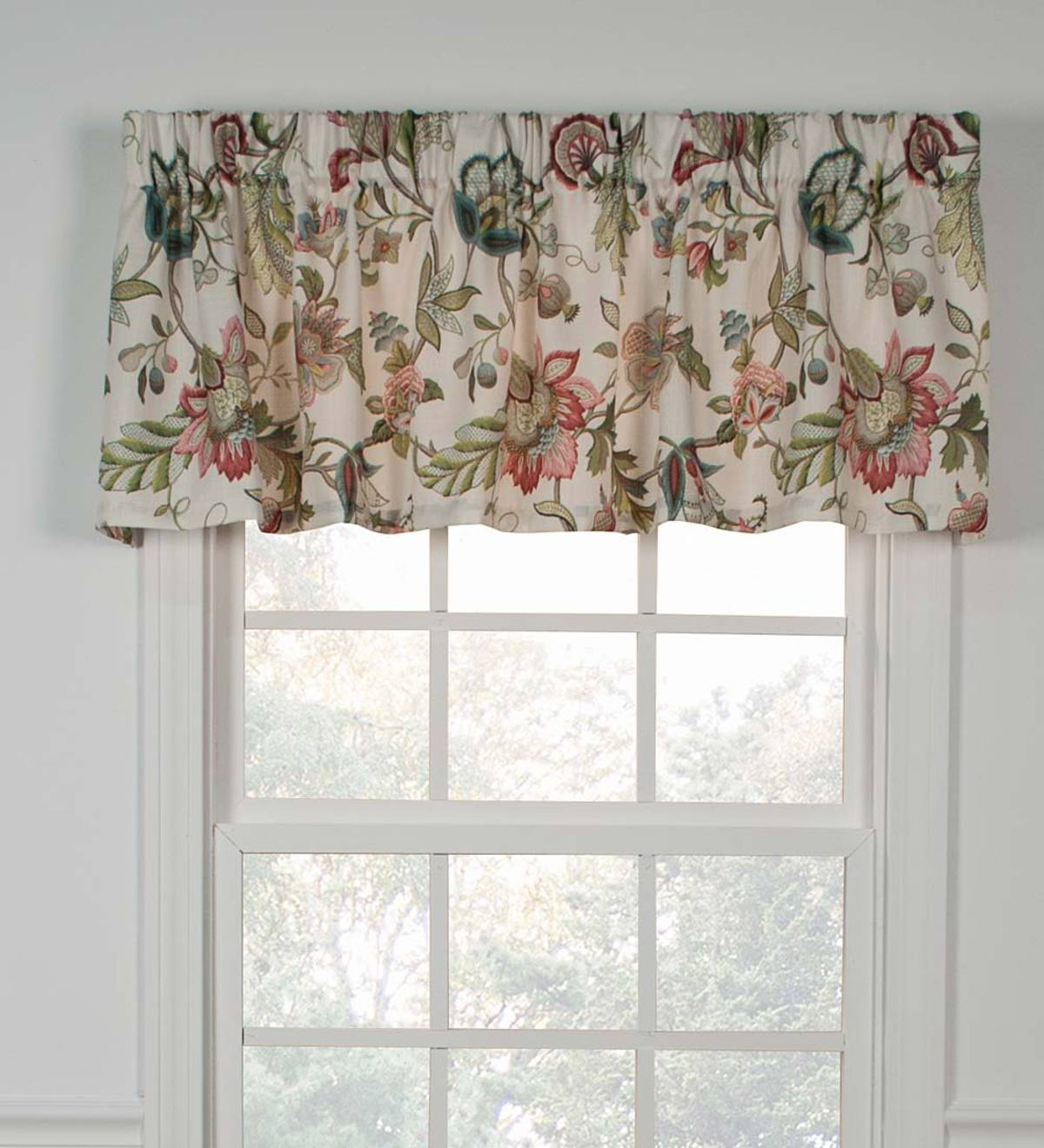 Brissac Jacobean Floral Print Window Valances