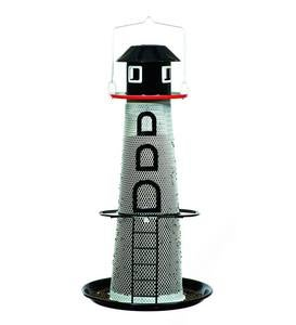 Solar Lighthouse No-No Bird Feeder