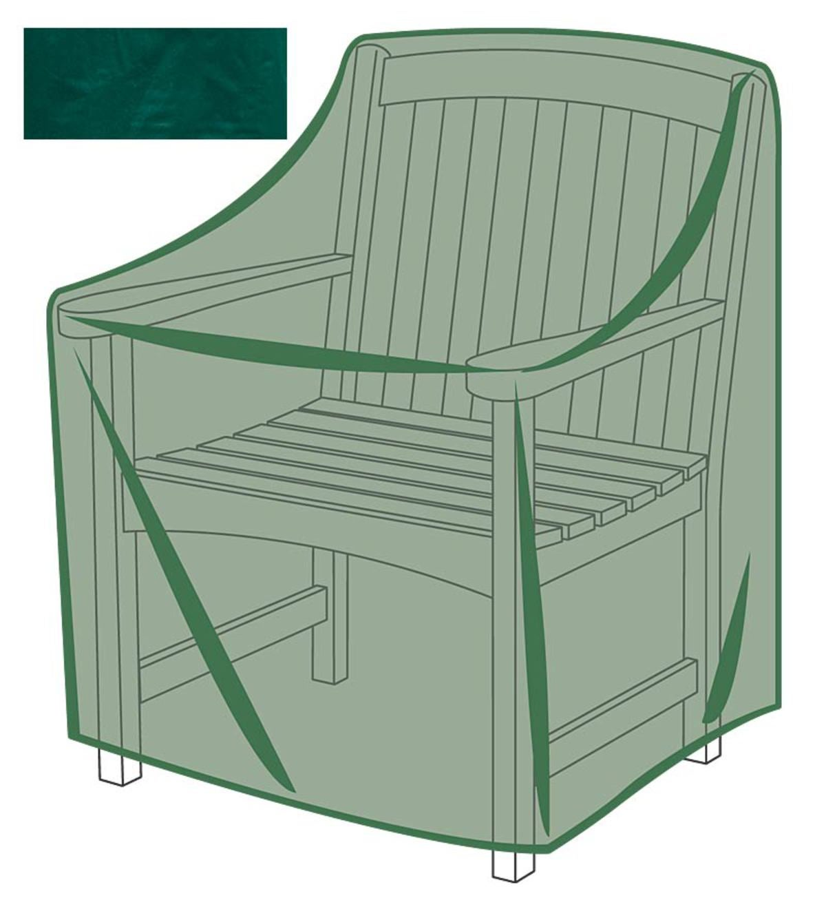 Outdoor Furniture All-Weather Cover for Armchair - Green