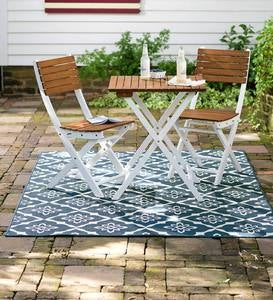 "Lexington Trellis Rug, 7'10""x 10'10"" - Navy"