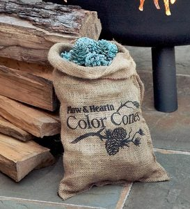Color-Changing Fireplace Color Cones, 5 lb. Bag