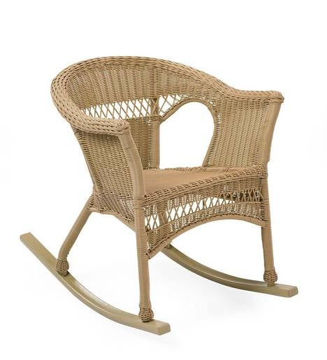 Easy Care Resin Wicker Rocker