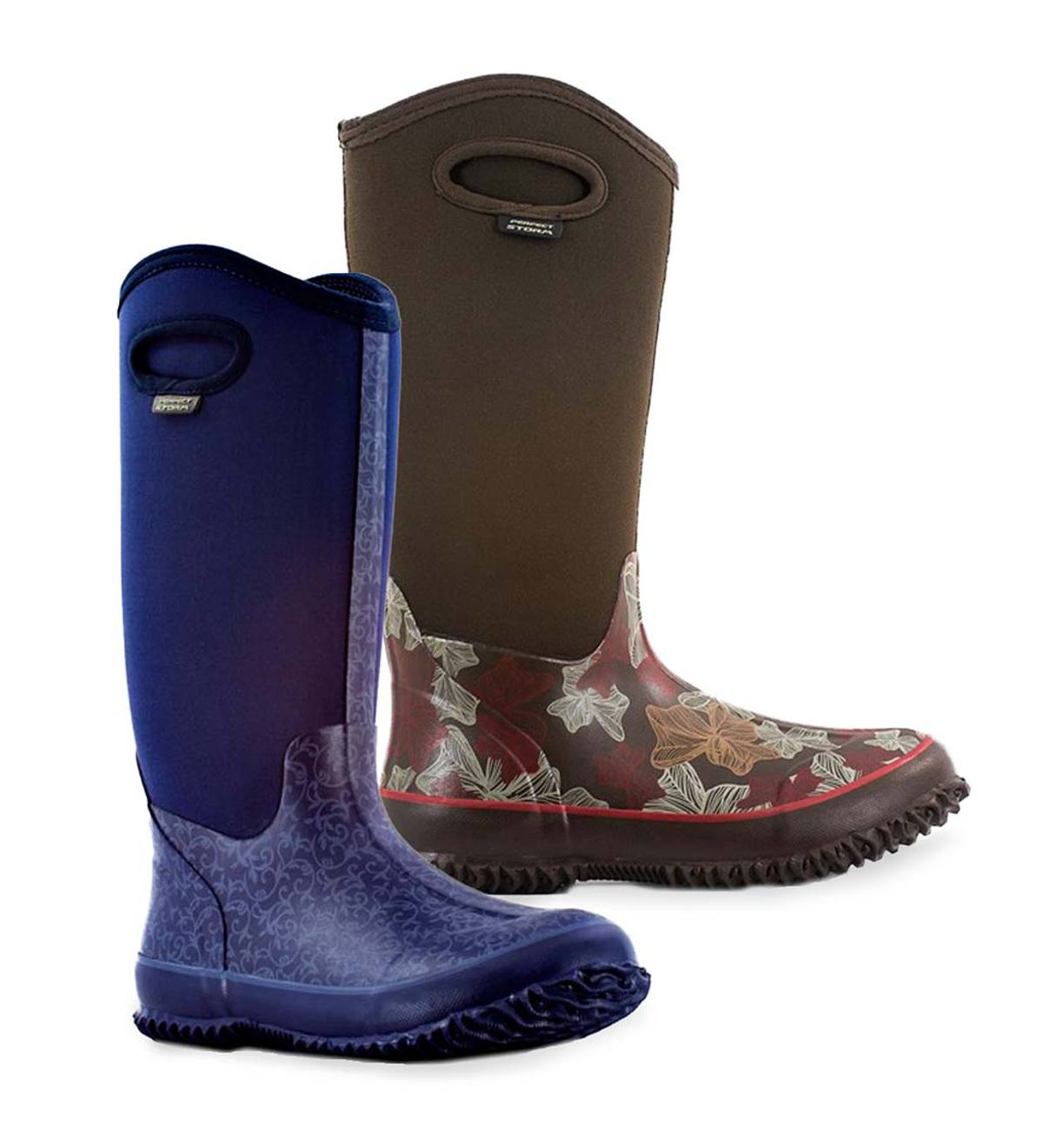 Women's Waterproof Rain High Boot With Perform Shield Handle
