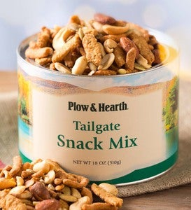 Tailgate Snack Mix, 18 oz. Resealable Tin
