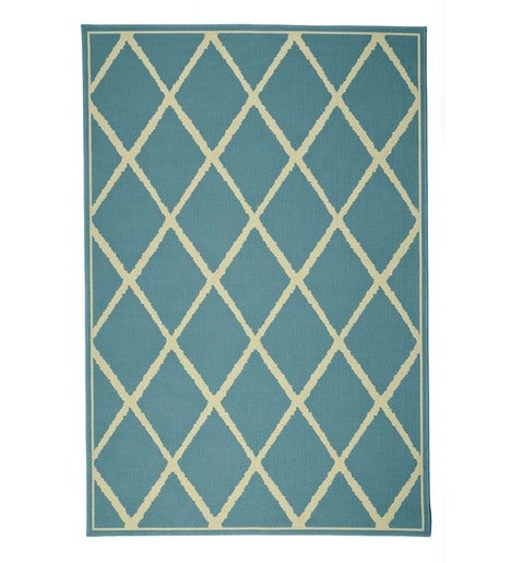 "Lattice Surry Rug, 6'7""x 9'6"""