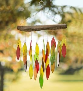 Fall Leaves Waterfall Wind Chime