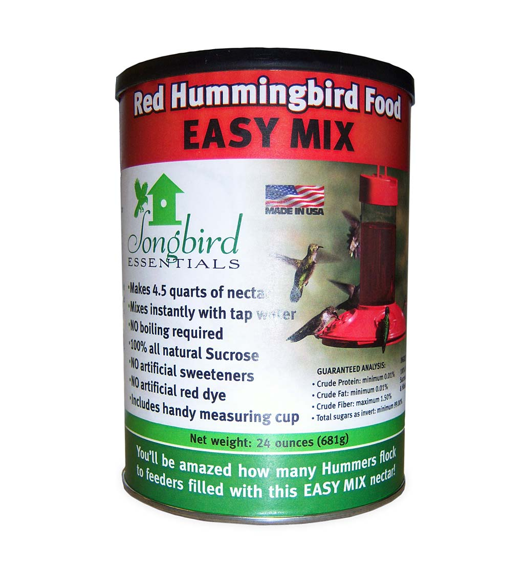 24-Ounce Red Hummingbird Nectar Mix