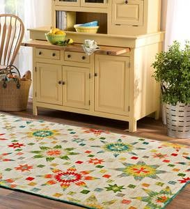 Spring Star Performance Folk Art Rug