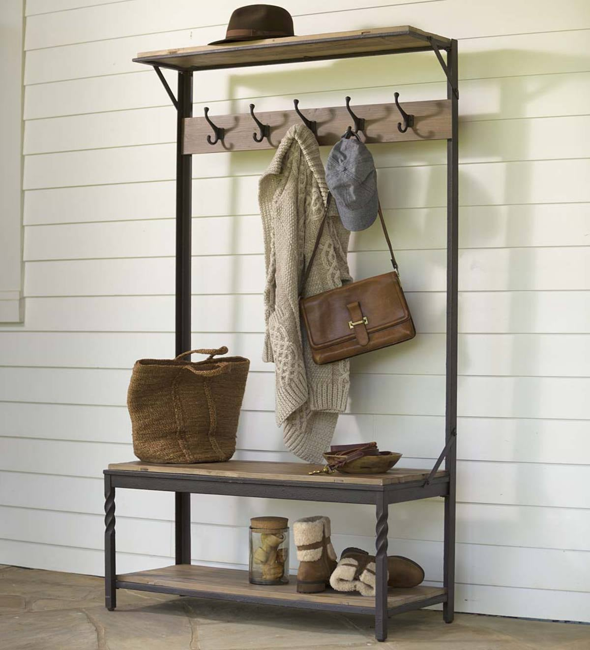 Deep Creek Coat Rack - Walnut