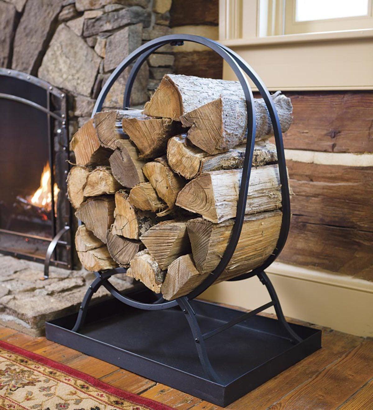 fireplace firewood rack - HD1200×1320