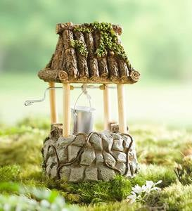 Miniature Fairy Garden Wishing Well