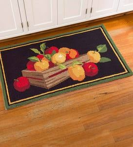 Apple Crate Indoor/Outdoor Accent Rug