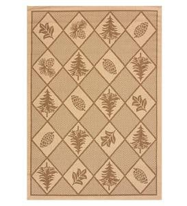 Woven Pine Indoor/Outdoor Area Rug