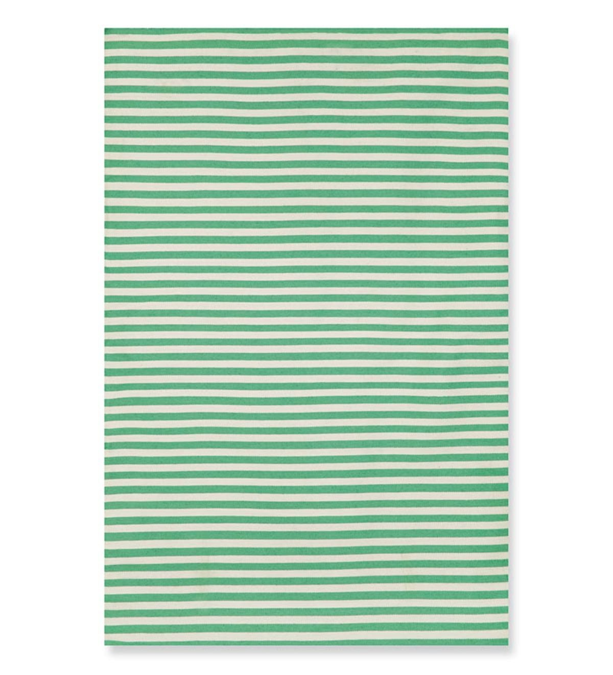 "7'6""x 9'6""Sorrento Mini Stripe Indoor/Outdoor Rug - Aqua"