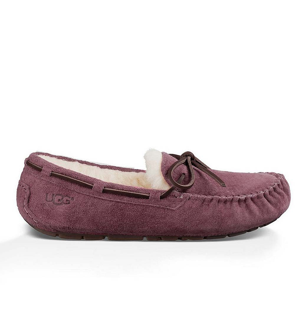 UGG Australia Womens Dakota Moccasin Slippers - Slate - Size 6