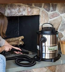 Heavy-Duty Fireplace Warm Ash Vacuum and Replacement Filters
