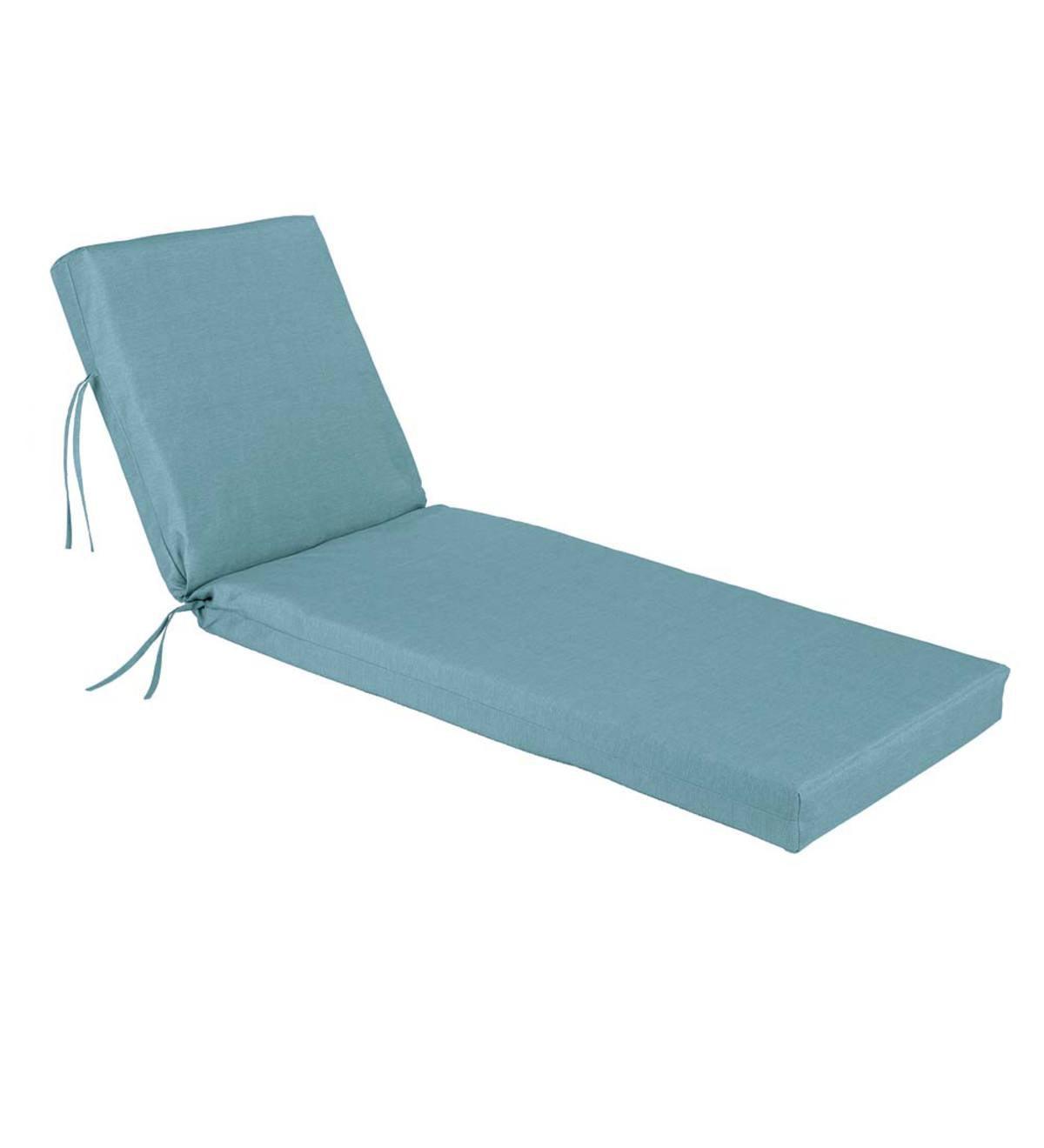 Shenandoah Outdoor Chaise Lounge Chair Cushion Plowhearth