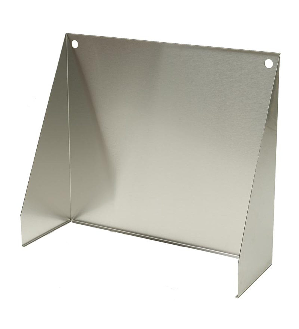 "Stainless Steel Fireplace Reflector, 22""W"