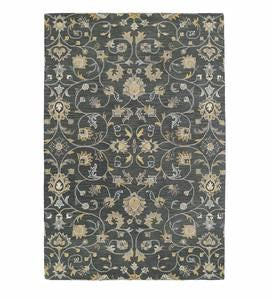 Lauren Vine Wool Area Rug