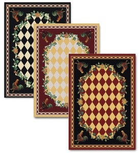 8' x 11' High Country Rooster Area Rug