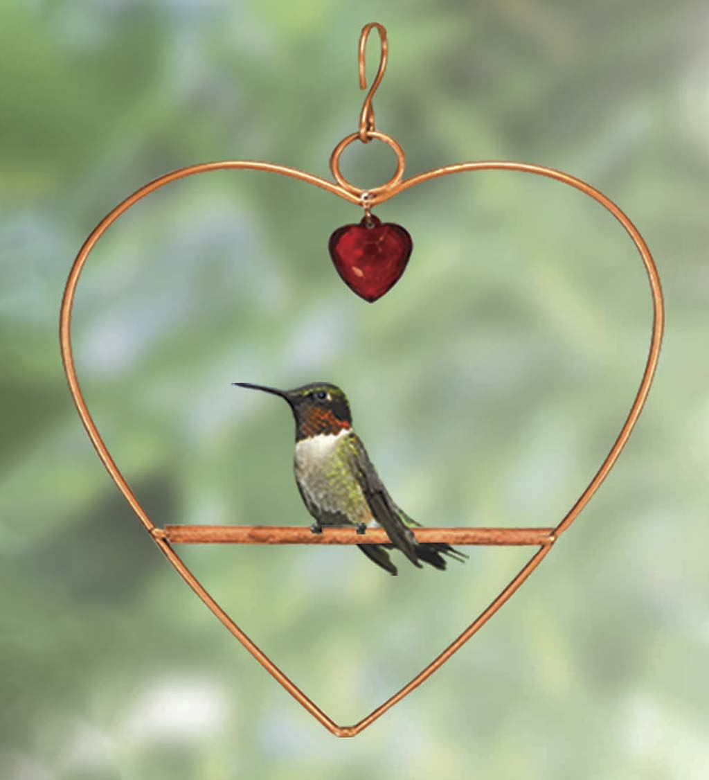 Tweet Heart Bird Swing