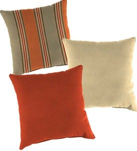 Sunbrella® Classic Throw Pillows